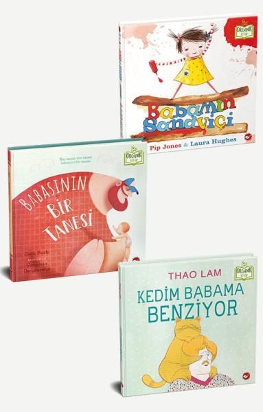 Babamı Seviyorum Seti - 3 Kitap [Organik Kitaplar]