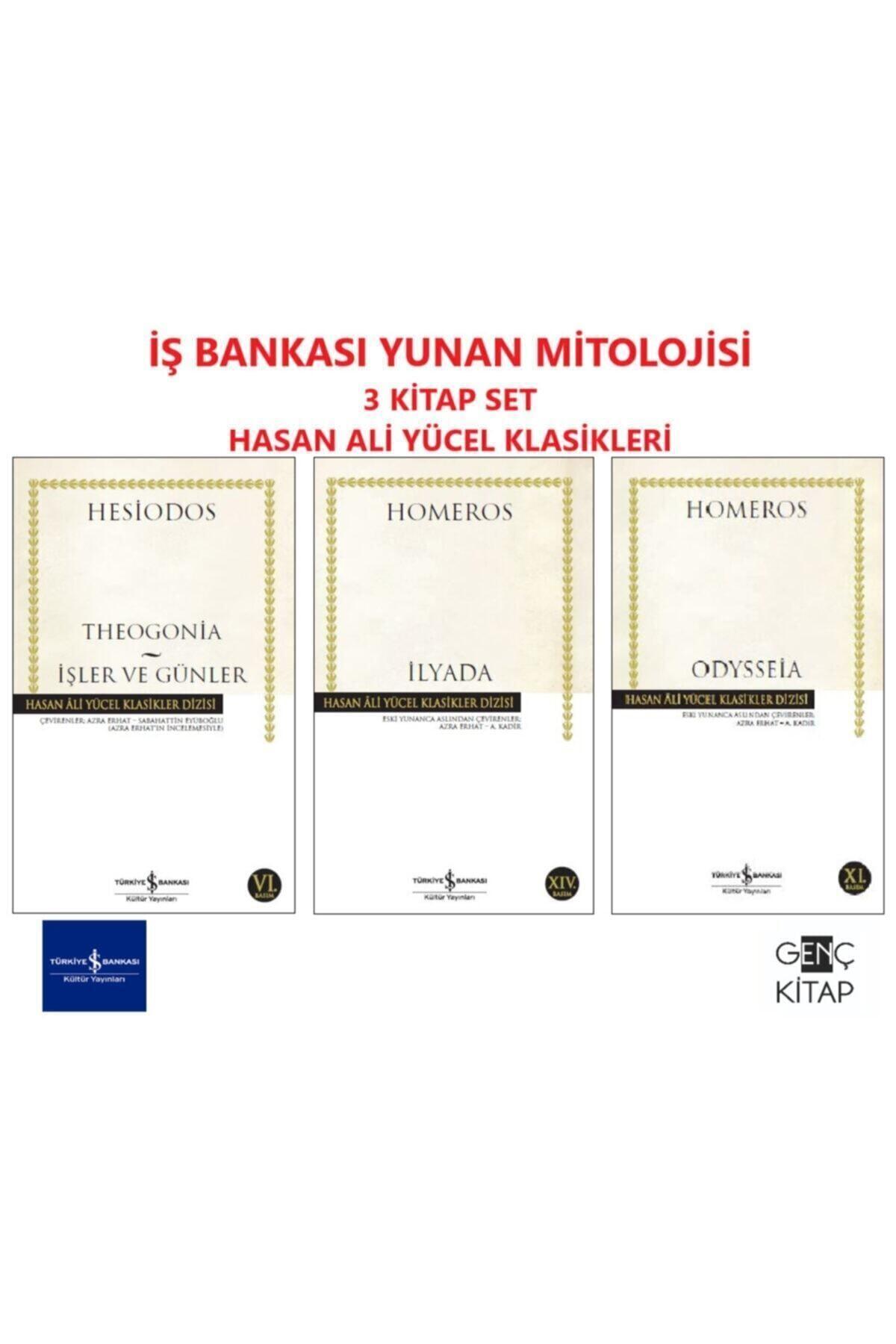 Iş Bankası Yunan Mitolojisi 3 Kitap Set Hasan Ali Yücel Klasikler Homeros-ilyada-odysseia